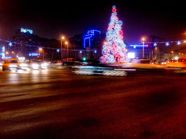 christmas tree bucharest romania