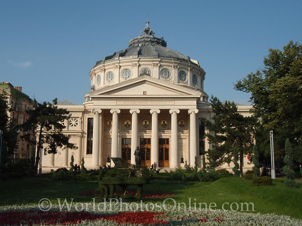 Bucharest - Romanian Athenaeum (Concert Hall)