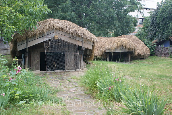 Bucharest - National Village Museum - Draghiceni 1100's