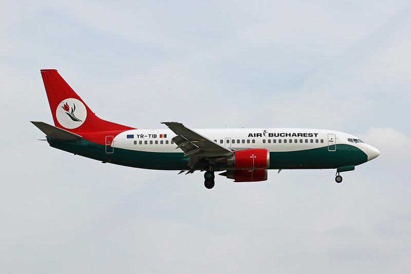 """YR-TIB Boeing 737-3L9 """"Air Bucharest"""" c/n 27924 Dusseldorf/EDDL/DUS 18-05-18"""