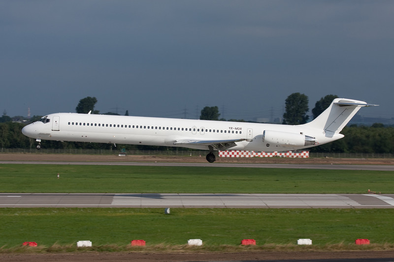 "YR-MDR Douglas MD-81 ""Jetran International Airways"" c/n 48097 Dusseldorf/EDDL/DUS 03-08-08"