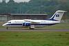 "YR-BEA British Aerospace 146-200 ""Romavia"" c/n E2227 Luxembourg/ELLX/LUX 16-10-06 (35mm slide)"