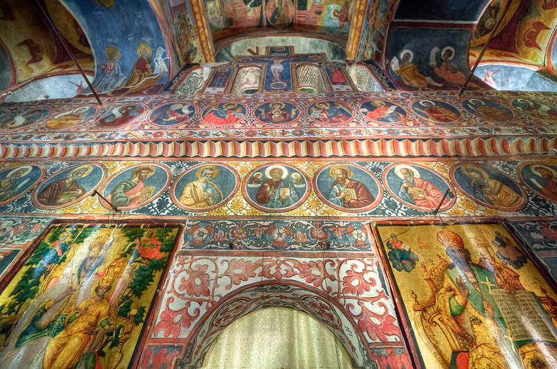 Inside the Boyana Church