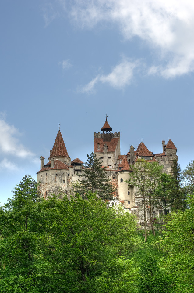 Count Dracula's Bran Castle in Romania
