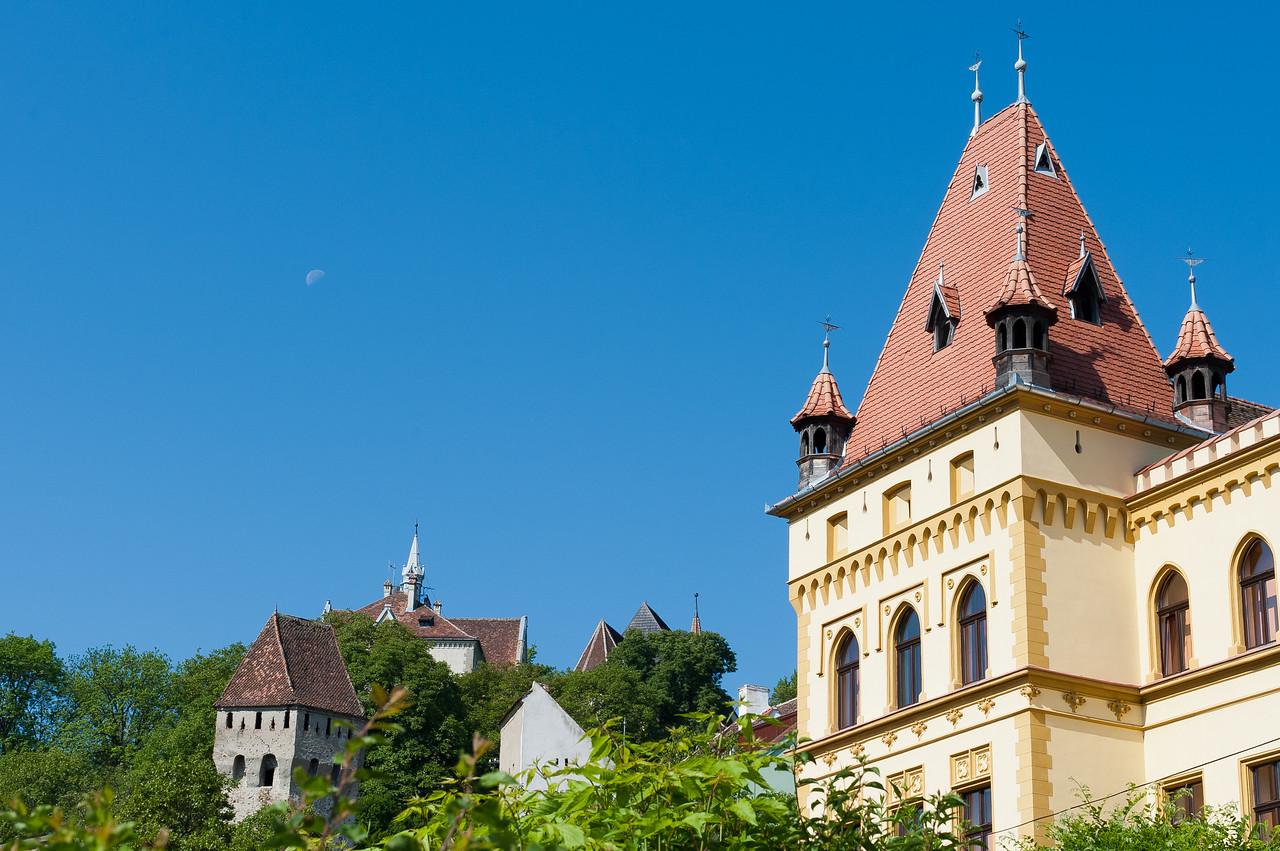 Vlad Tepes' castle in Cetatea Sighişoara - Romania