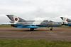 """6824 Mikoyan-Gurevich MiG-21 MF-75 Lancer C """"Romanian Air Force"""" c/n 96006824 Fairford/EGVA/FFD 22-07-19"""