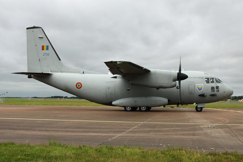 """2706 Aeritalia C-27J Spartan """"Romanian Air Force"""" c/n 4157 Fairford/EGVA/FFD 22-07-19"""