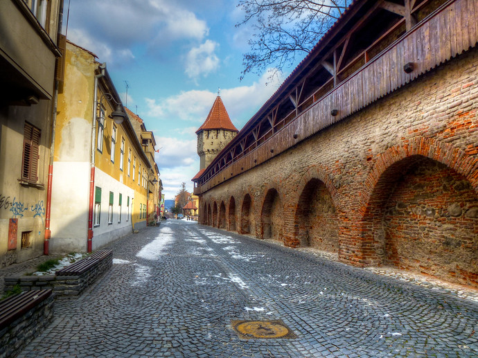 sibiu fortress walls