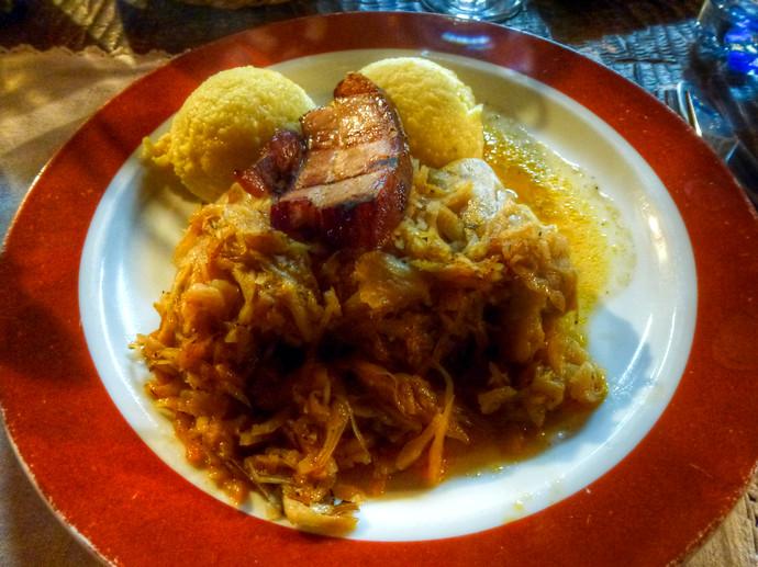 sibiu romania food