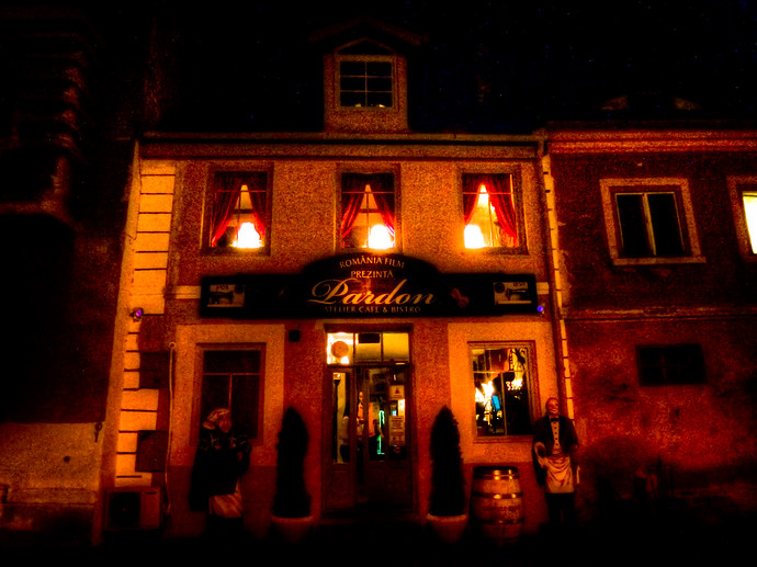 pardon cafe and bistro sibiu romania
