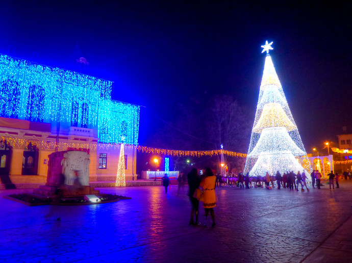 targu jiu christmas romania travel