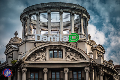 Adriatic-Trieste Building in Bucharest, Romania