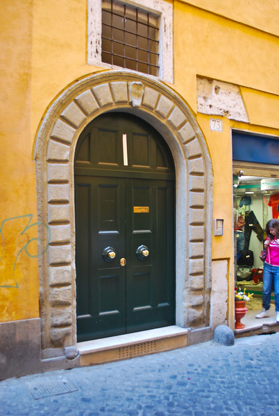 The apartment near Campo dei Fiori