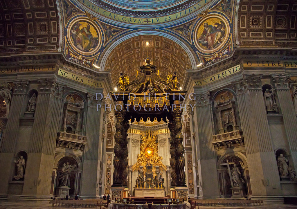 Inside st Peters