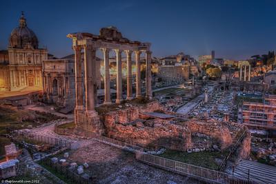 Rome-Forum-night-italy-1