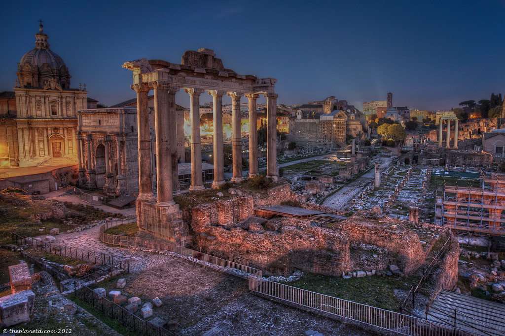 Year in pictures, roman forum