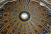 Inside the beautiful dome of St. Peter's Basilica ~ Vatican City