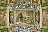 Ceiling on walk to Sistine Chapel ~ Vatican City, Italy