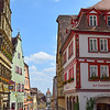 Charming streets of Rothenburg