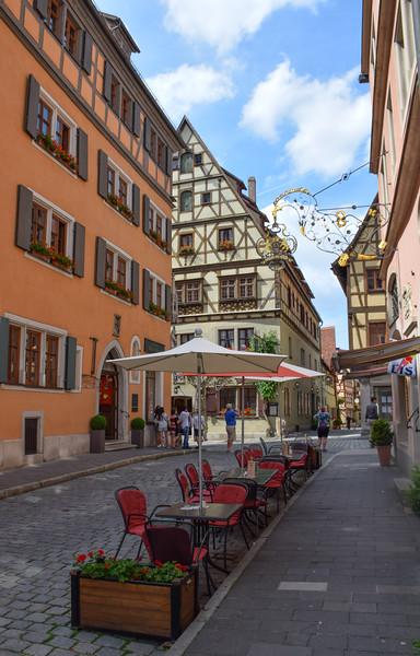 Streets of Rothenburg