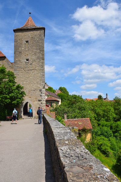 Views from the city walls