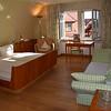 Room at the Romantik Hotel Markustrurm
