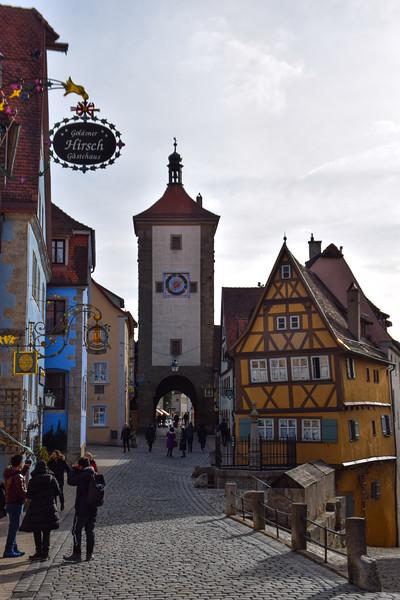 Plönlein (Little Square) and Siebers Tower