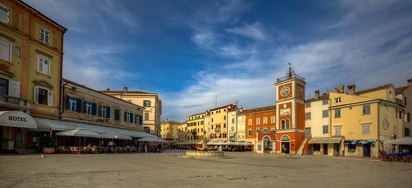 Town Square, Rovinj