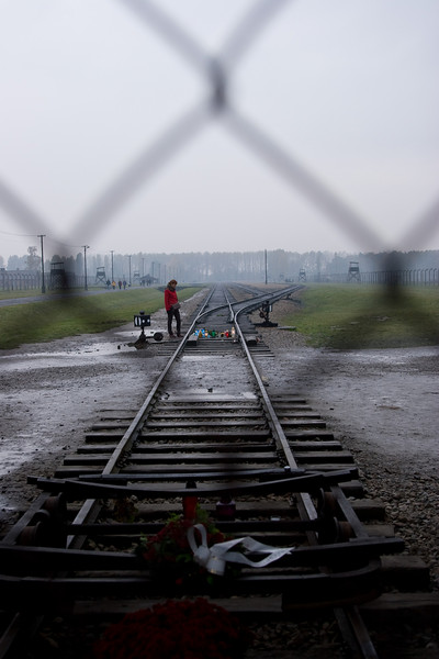 While only 1.5km away, Birkenau has none of the campus-like  look of Auschwitz.  This is because Auschwitz originally was an army base where Birkenau was built for death.