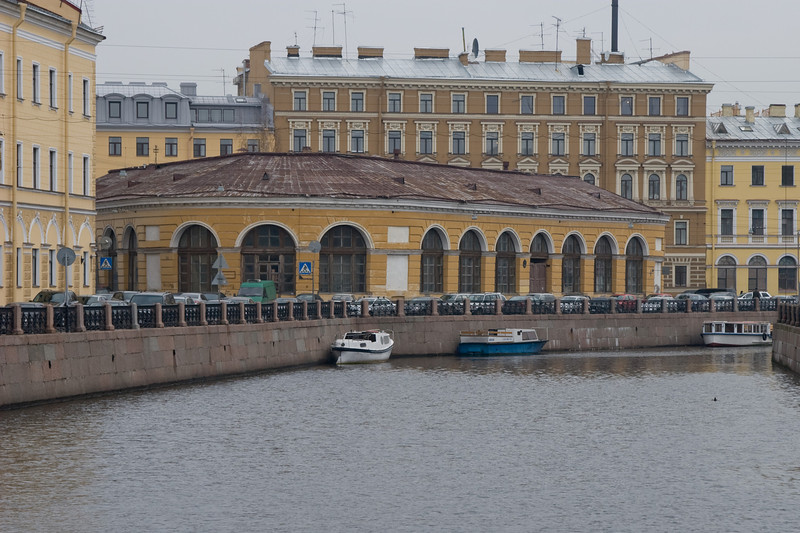 One of St. Petersburg's many waterways