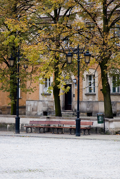 In Warsaw's old city