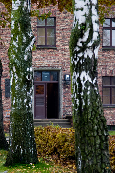 One of the many disturbing aspects of Auschwitz is how parts of it look like a college campus.