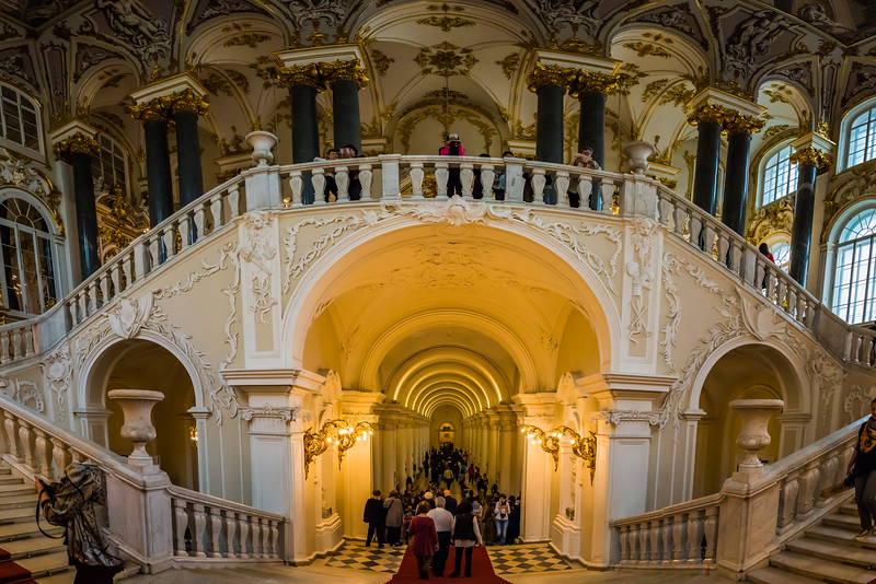 Jordan staircase, Interior of the Winter Palace