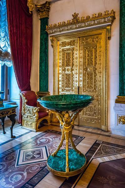 Golden doors, State Hermitage Museum
