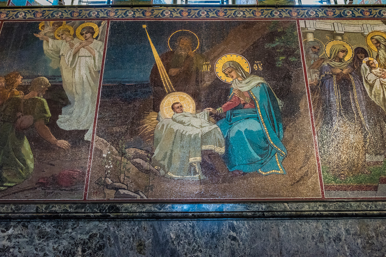 Church of  the Resurrection of Christ Mosaics