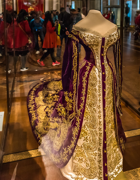 Court Ceremonial Dress circa 1847