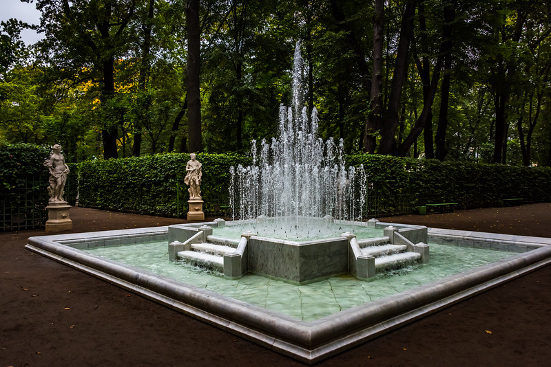 Fountain, Summer garden