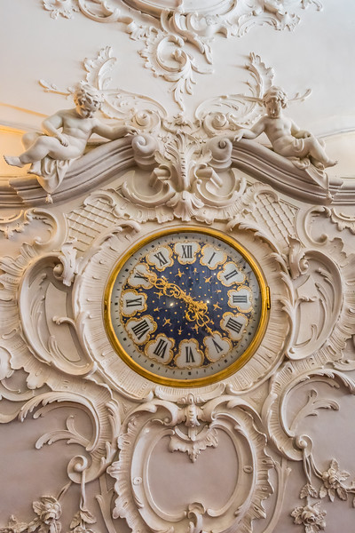 Rare clock and relief