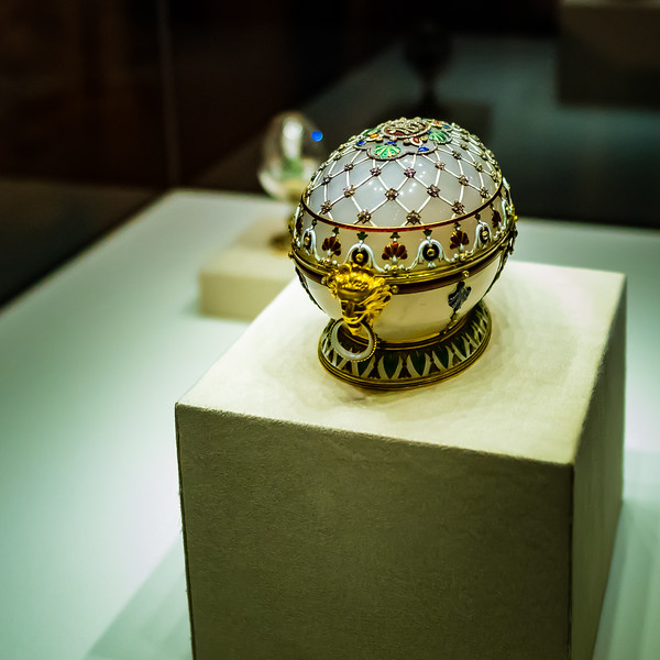 The Renaissance egg, 1894 Faberge