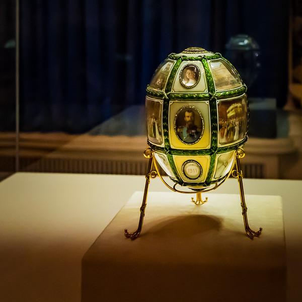 Tsar family egg, Faberge Museum