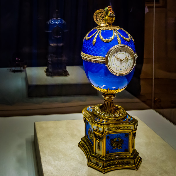 Clock Egg, Faberge Museum