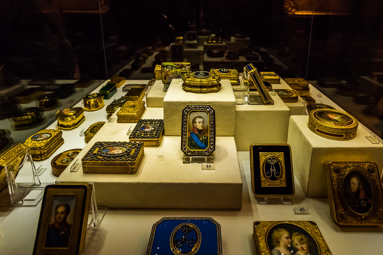 Cabinet gifts by Faberge
