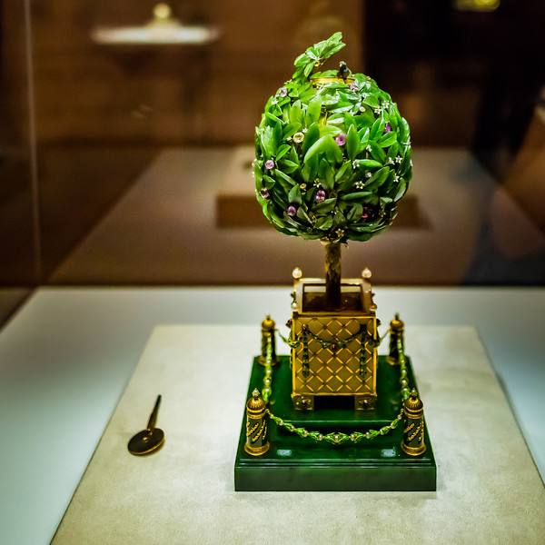 Bay Tree Easter egg, Faberge