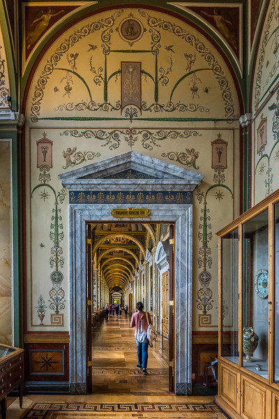 Great passage way, the State Hermitage