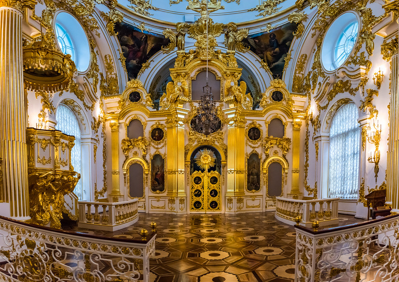 Golden Chapel, State Hermitage Museum