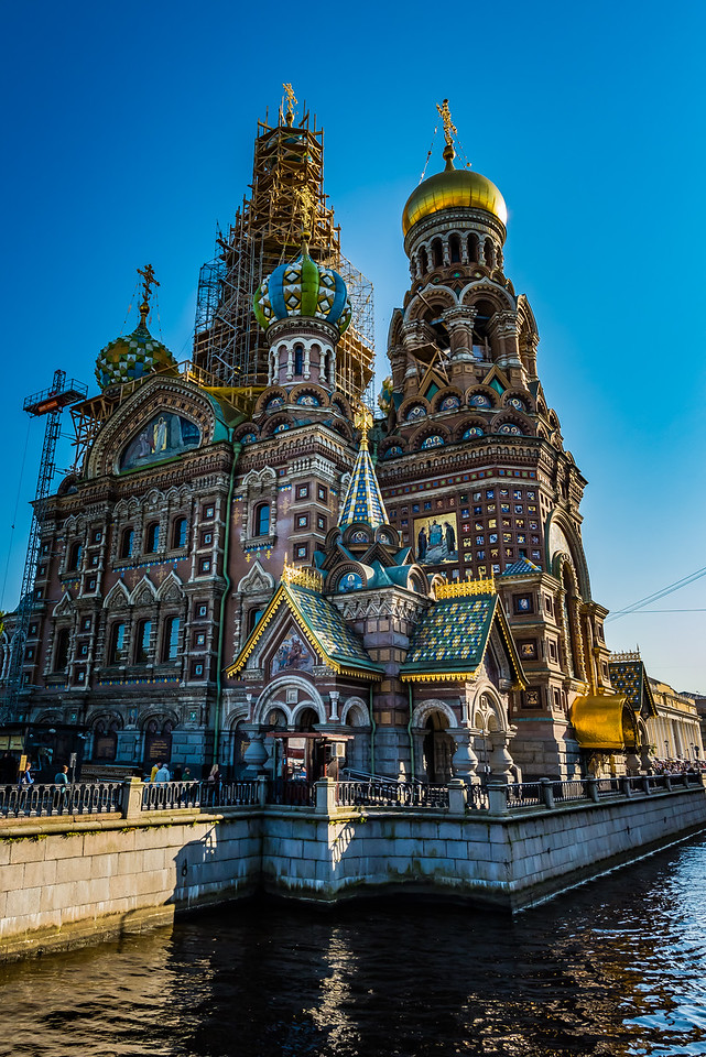 Savior of the Spilled Blood -Church of   the Resurrection of Christ