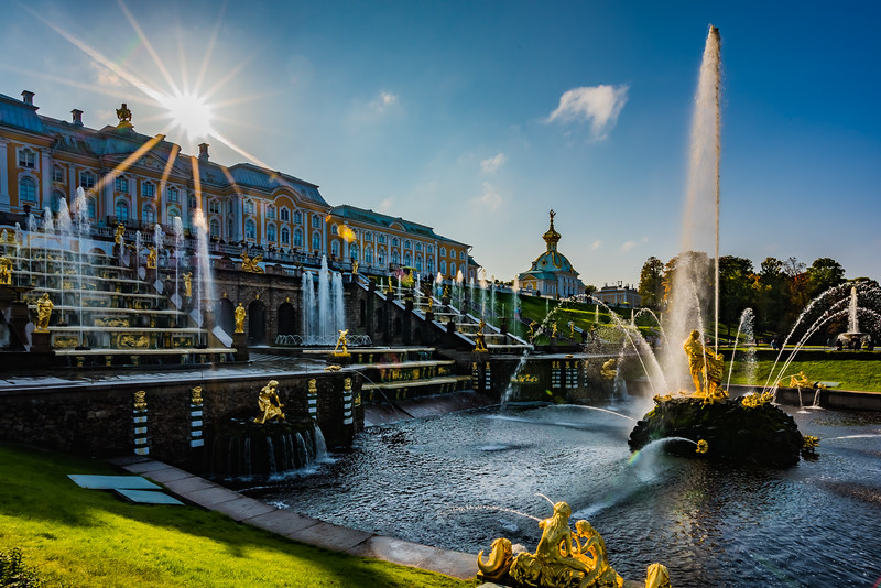 Fountains & Gardens of Peterhof Palace