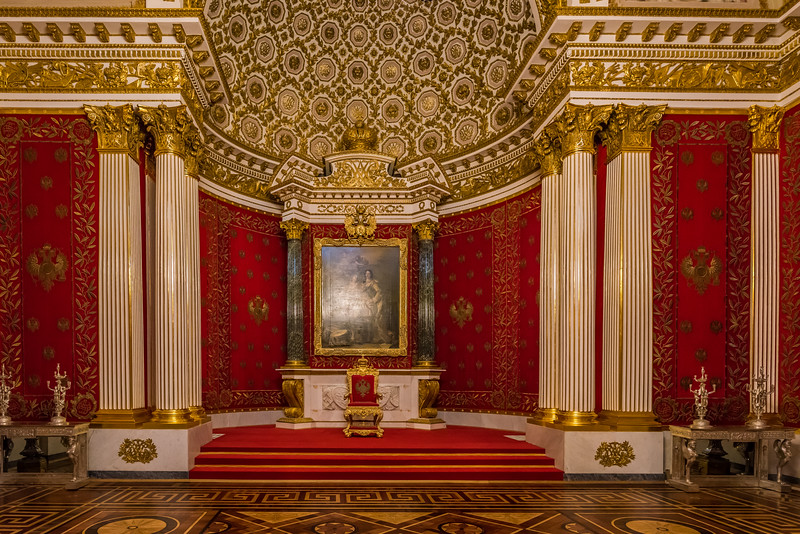 Great Throne Room, St George's Hall, The State Hermitage