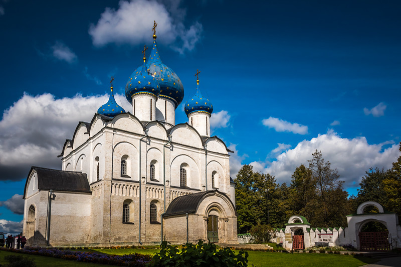 Nativity of the Virgin Cathedral - Suzdal circa ~1220. - Rozhdestvenskiy Sabor