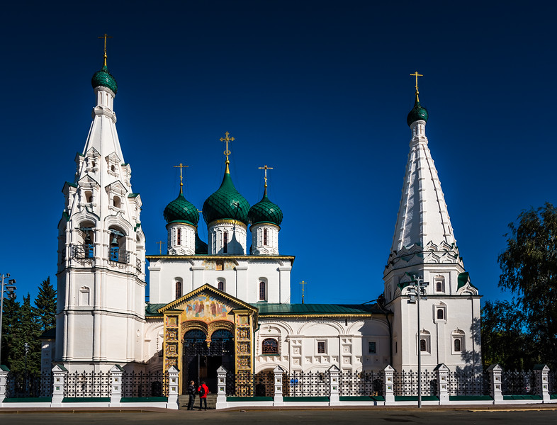 Church of Elijah the Prophet - Yaroslavl circa ~ 1647